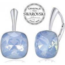 Swarovski Crystal SILVEGO strieborné náušnice so Swarovski VSW051E 848438dcf65