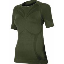ee5f59542 ALBA 6262 zelená termo bezešvé triko
