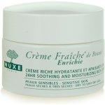 Nuxe Creme Fraîche de Beauté upokojujúci a hydratační krém pre suchú až veľmi suchú pleť 24hr Soothing and Moisturizing Rich Cream 50 ml