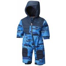 c78c24803 ColumbiacChlapčenská kombinéza Hot-Tot Suit Super Blue Geo Print modrá