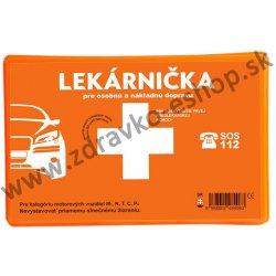Autolekárnička Panacea, plastová, 143/2009