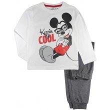 E plus M Chlapčenské pyžamo Mickey bielo-modré