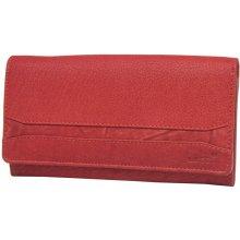 Lagen Dámská červená kožená peňaženka Red W-2025/W-3