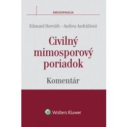 Civilný mimosporový poriadok - komentár - Edmund Horváth, Andrea Andrášiová