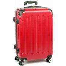 Lumi 218 cestovný kufor malý 37x23x55 cm Červená