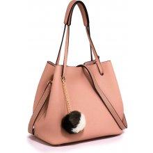 15ab68617c kabelka na rameno Beatrix + kapsička ružová