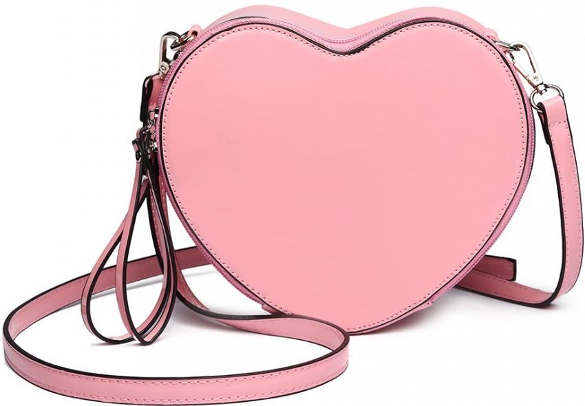 Miss Lulu dámska crossbody lakovaná kabelka srdiečko ružová alternatívy -  Heureka.sk 131f3086e58