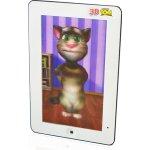 J-PAD 1809 3D Tablet Talking Tom biely