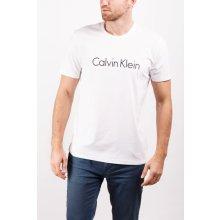 Calvin Klein Pánske tričko Comfort Cotton S / S Crew Neck NM1129E -100 White