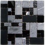 MOSAGRES MKS983 Mozaika sklo kámen Multix8 300x300x8mm