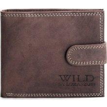 Pánska kožená peňaženka Wild By Loranzo!!! 985h