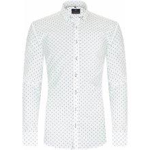 Vzorovaná pánska košeľa v slim strihu - New Saint Tropez