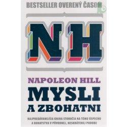 kniha NH Mysli a zbohatni - brož. - Napoleon Hill
