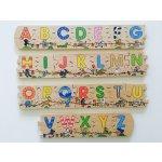 Goki vkladacie puzzle abeceda