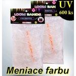 Loom Bands gumičky UV 600 ks (menia farbu)