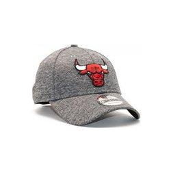New Era Shadow Tech Chicago Bulls 9FORTY Grey Heather Strapback šedá    červená   černá 23fab2de2e
