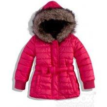 DIRKJE, Dievčenská zimná bunda tmavoružová