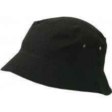 79528a634 Bavlněný klobouk MB012 Černá / černá