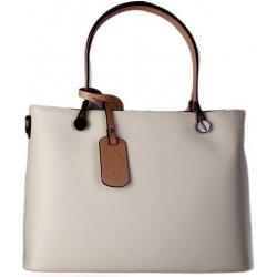 a440282f21 talianske luxusné kožené kabelky veľké jemne béžová Marta ...