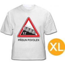 Pivárske tričko Prísun povolený CZ