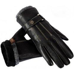 Ostatní Pánské kožené rukavice LDareuno černé alternatívy - Heureka.sk e7ddc4939d