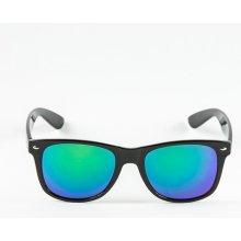 Sunmania Wayfarer zrkadlové 036 zelené