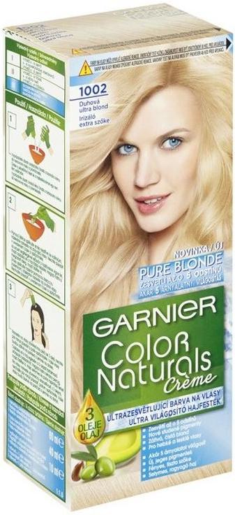 Farba na vlasy Garnier Color Naturals 1002 Dúhová Ultra Blond ... fcf84c504e1