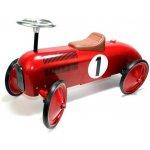 Goki Červené Závodné Auto s gumenými kolesami