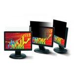 """3M čierný privátný filter na LCD 22.0"""" widescreen PF22.0W"""