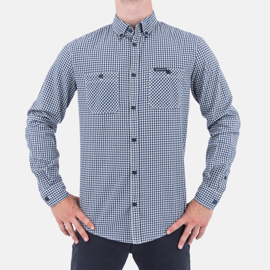 64b1560b02bb Pánska košeľa Armani Jeans Pánská košile - Zoznamtovaru.sk