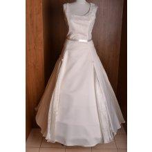 Svadobné šaty maslové 6