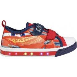 Disney Brand Chlapčenské blikacie tenisky Cars červeno-modré ... f2256bd2f08
