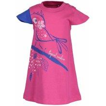 1e56e290d79b Blue Seven Dievčenské šaty s vtáčikom ružové