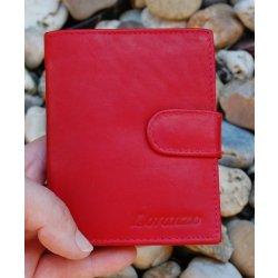 Pánska červená peňaženka koža pracka od 17 f240e5183d9