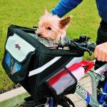 Trixie Prepravný box na bicykel pre psa 38x25x25cm