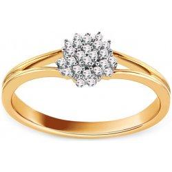 c0185f540 iZlato Design Zlatý zásnubný prsteň s diamantmi Floria VKBR020 ...
