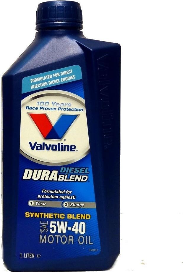 Valvoline Durablend Diesel 5W-40 1 l - 0