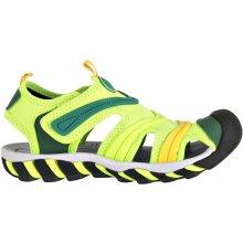 ALPINE PRO JORDAN Detská letná obuv KBTL161530 reflexná žltá