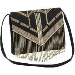 b418d06d67 Clutch kabelka čierno-zlatá alternatívy - Heureka.sk