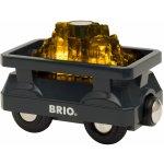 Brio World 33896 Svietiaci vagón so zlatom