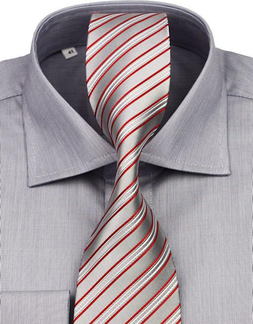 1bc7dd33a1ca Pánska košeľa Klemon Luxusná biznis košeľa na manžetové gombíky ...