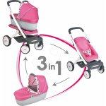 SMOBY 550289-1 ružovo-oranžový kočík Maxi Cosi & Quinny kočík 2v1 pre bábiku