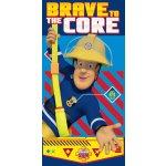 Jerry Fabrics Osuška Požiarnik Sam Brave to the Core 70x140cm