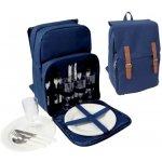Rekl Piknikový batoh NOLAN pro 4 osoby modrý