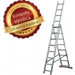 Rebrík PROPER AL 3x8 priečok 5,7m