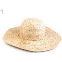 108f9284e Dámsky klobúk / slamák režná svetlá