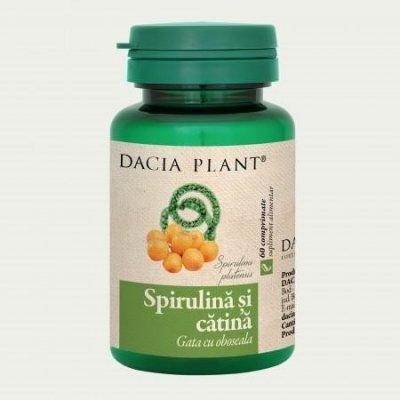 spirulina catina dacia plant)