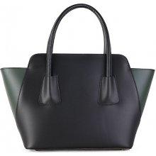 6077c2e336 talianske malé kožené kabelky crossbody dámske listové čierne Zafira  spoločenské. 65