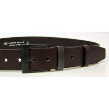 Penny Belts Pánsky kožený opasok 8-40 hnedý