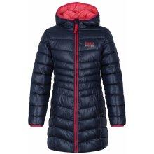 df0c7cd50164 LOAP Dievčenské zimné kabát Ikima svetlo modrý